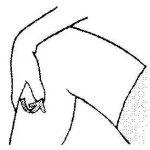 膝の痛みや坐骨神経痛に効くツボ