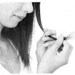 乾燥から髪を守るヘアケア